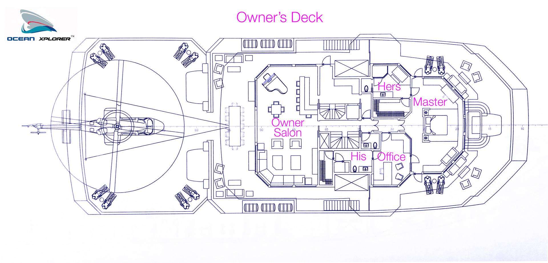 Ocean Xplorer 70 Owner's Deck