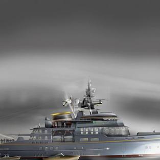 LP Design 90-meter Expedition Yacht