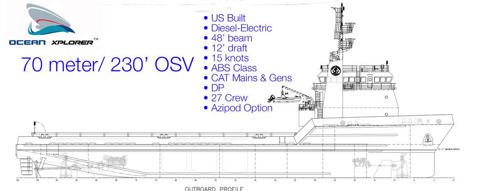 Ocean Xplorer 70  OSV platform