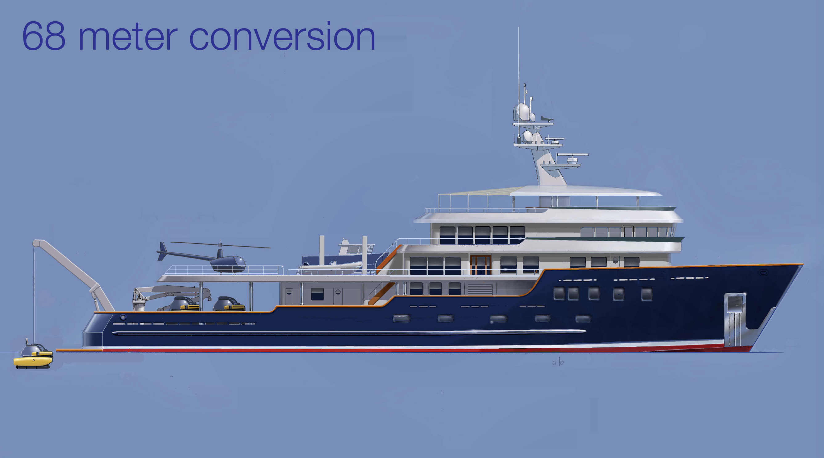 68m conversion profile