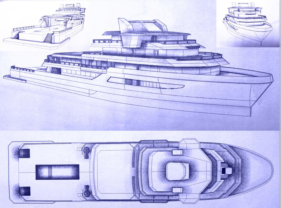 Ocean Xplorer 70 Design Study