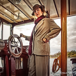 Captain of Mary Rittenhouse's yacht.
