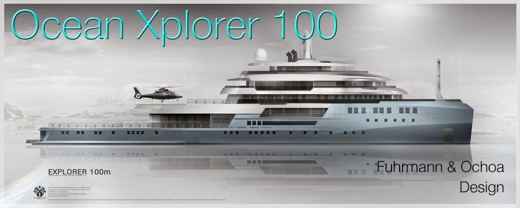 Ocean Xplorer 100 Expedition Yacht