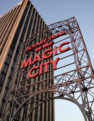 Magic City Rotary Trail Sign