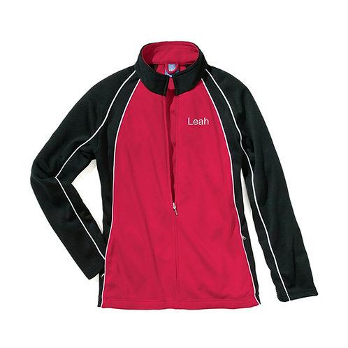 BDC Custom Warm Up Jacket  Red/White/Black