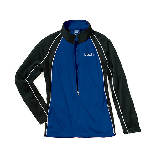 BDC Custom Warm Up Jacket Royal/White/Black