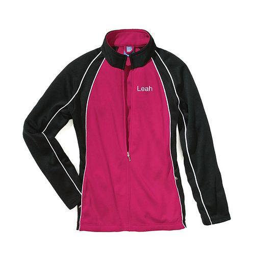 BDC Custom Warm Up Jacket  Pink/White/Black