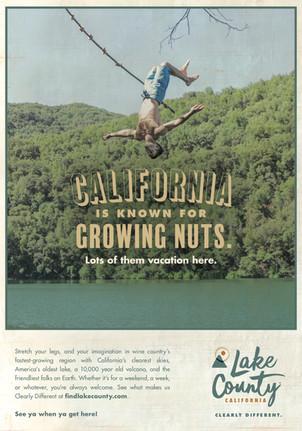 Lake County California — Brand Positioning Print Ad