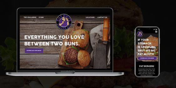 Fat Guy's Burger Website (spec)