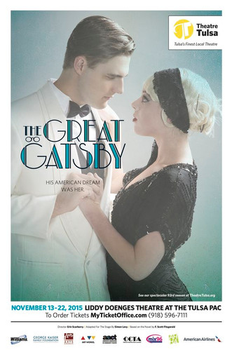Theatre Tulsa — Poster (The Great Gatsby)