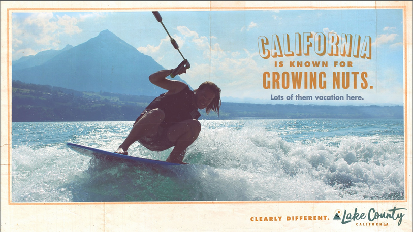 Lake County California — Brand Positioning and Print Ad