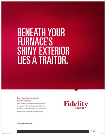 Fidelity Bank — Poster Campaign (HELOC)