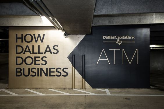 Dallas Capital Bank — Wall Signage