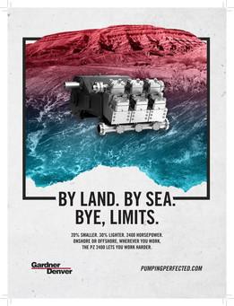 Gardner Denver Pumps — Print Ad (PZ-2400)
