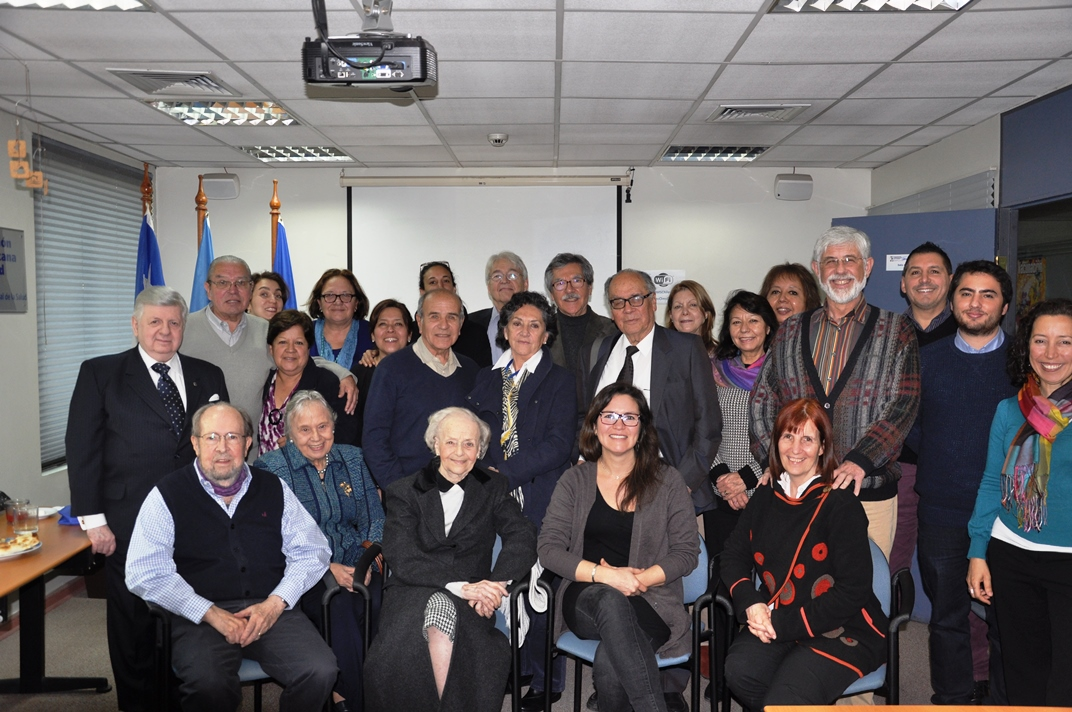 30 May 2017, a meeting in Chile of the expanded PAHO family