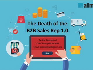 Death of the sales person