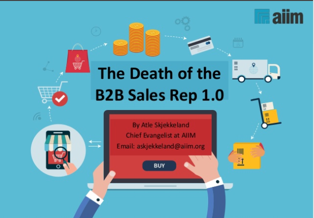 Death of B2B Sales Rep