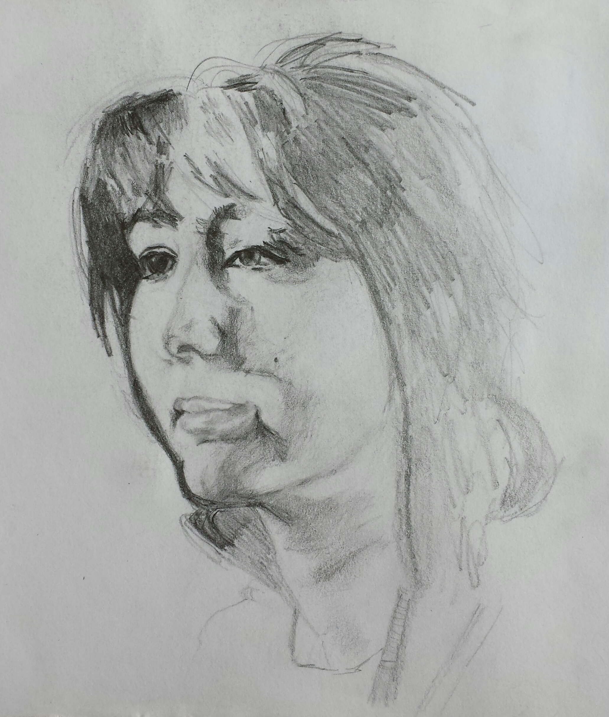 sketch of mum