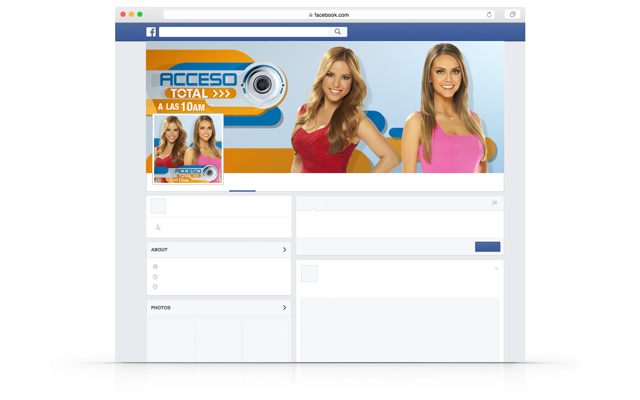 Facebook – Acceso Total