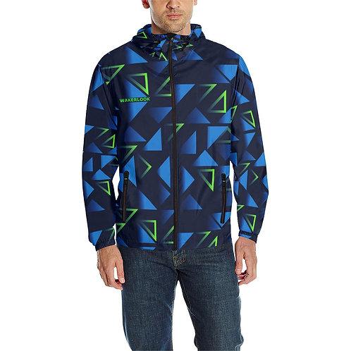 Windbreaker Wakerlook Triangle Men's All Over Print  Jacket