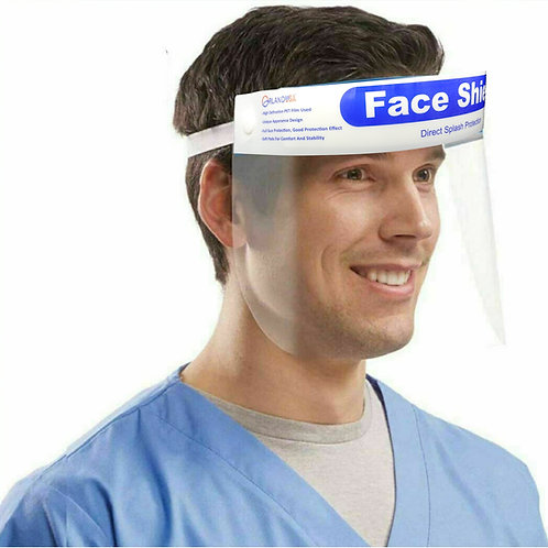 FACE SHIELD Safety Full Face Shield Clear Protector Anti-Splash Work