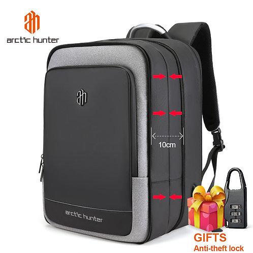 ARCTIC HUNTER 40L Large Capacity Mens Expandable Backpacks USB Charging