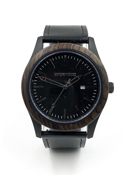 Inverness | Walnut | Black Leather