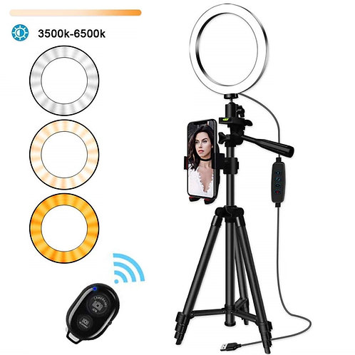 Selfie Ring Lamp Led Ring Light Selfie With Tripod Ring for Selfie Phone