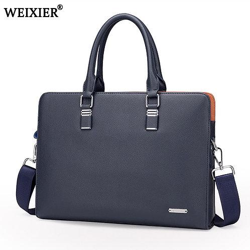 Wholesale Genuine Leather Men Briefcases Brand Fashion Men's