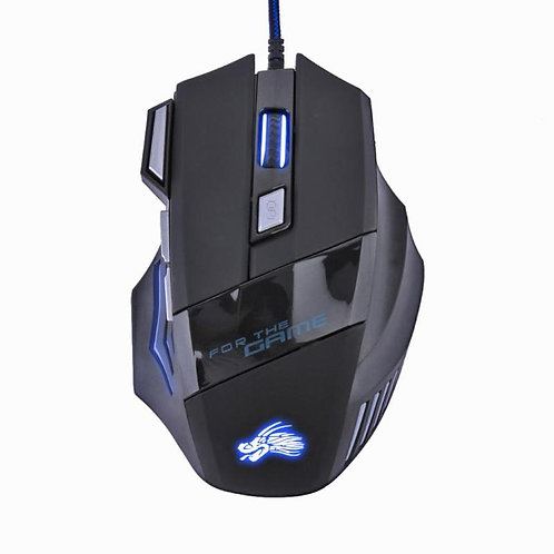 5500DPI LED Optical USB Wired Gaming Mouse