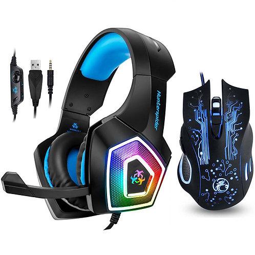 Hunterspider V1 Gaming Headset Stereo Bass