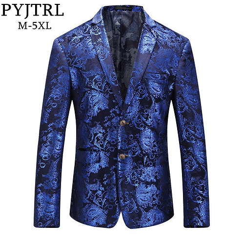PYJTRL Brand Autumn Winter Luxury Gold Red Blue Stylish