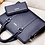 Thumbnail: New Fashion Men's Business Briefcase Casual Shoulder Bag Double Layer