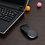 Thumbnail: 1600 DPI USB Optical Wireless Computer Mouse 2.4G Receiver Super Slim Mouse