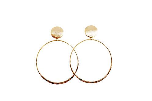 Jenn Gold Hoop Earrings