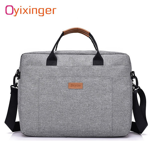 Men Canvas Business Briefcase Office Travel Messenger Large Tote