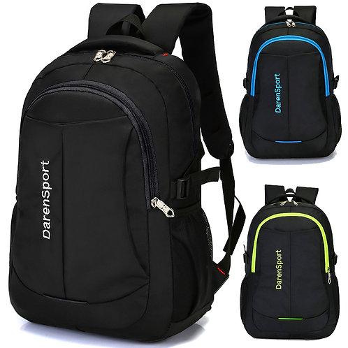 Travel Multifunction Bag Fashion Zipper Open Bag Men's BackPack