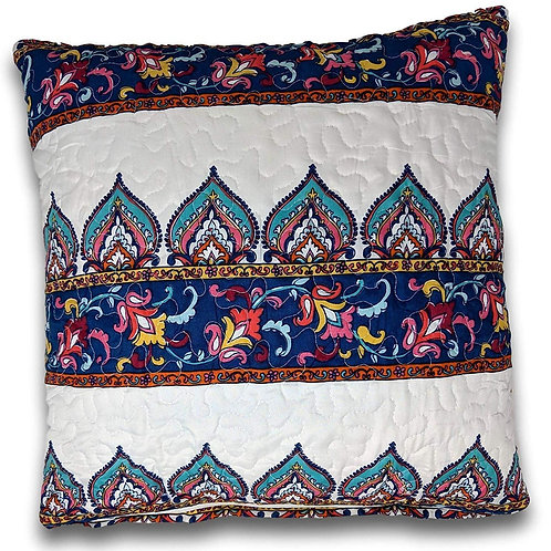 DaDa Bedding Set of Two Bohemian Earthy Meadow Throw Pillow Covers