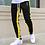 Thumbnail: Casual Skinny Pants Joggers Sweatpants Men Fashion Patchwork Trousers Male Track