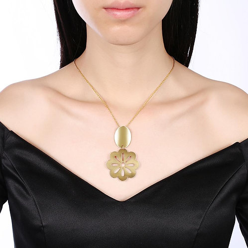Bologna Necklace in 18K Gold Plated