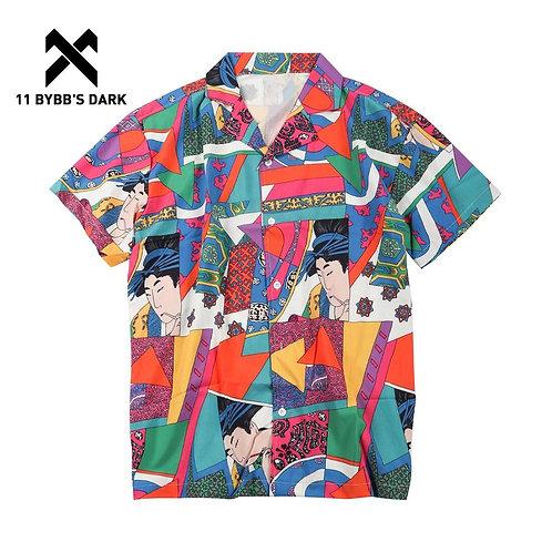 DARK Summer Vintage Hawaiian Shirts