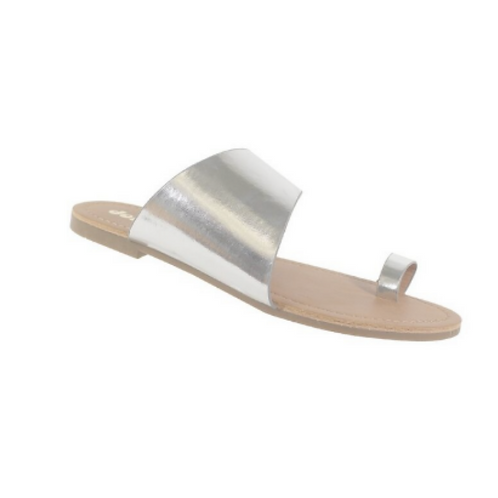 Tally Sandals -Silver