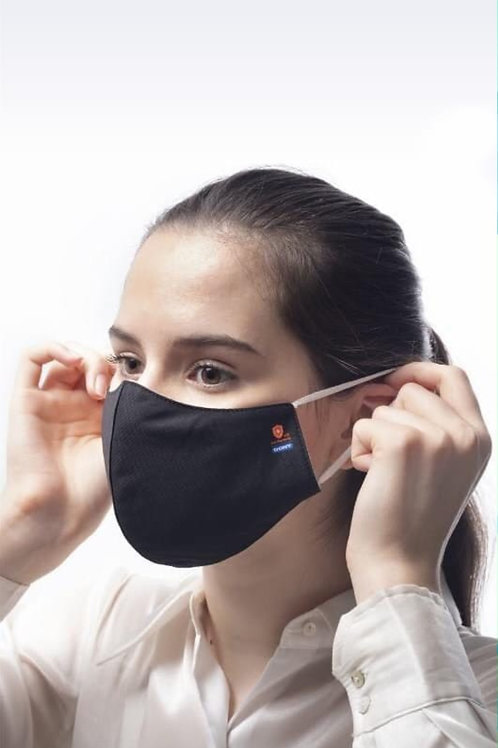 Anti-Bacterial 3 Layer Cloth Mask In Sterilized Bag, Washable Reusable