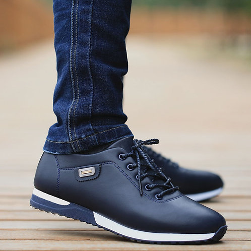 Men's PU Leather Business Casual Shoes for Man