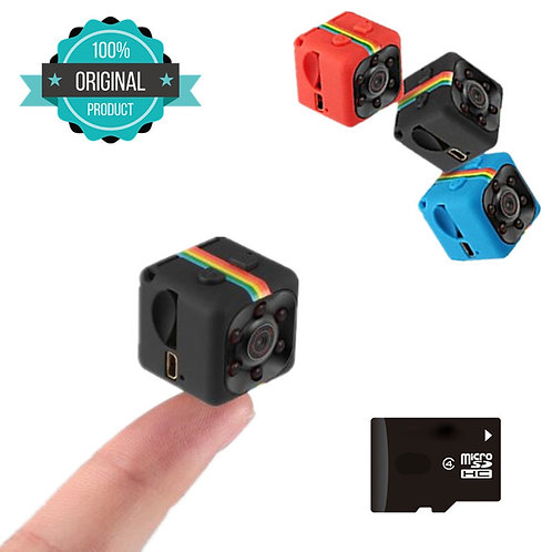 SQ11 HD Small Mini Camera Cam 1080P Video Sensor Night Vision Camcorder
