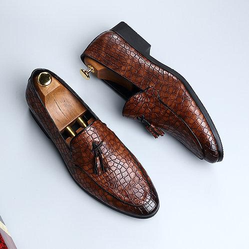 Men Dress Shoes Quality Men Formal Shoes Lace-Up