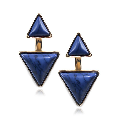Gypsy Earrings-Sapphire