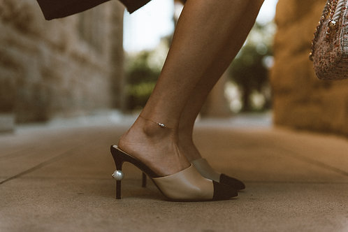 Handmade Dainty Pearl Anklet