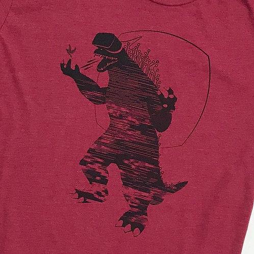 Mixed Reality T-shirt (Cranberry)
