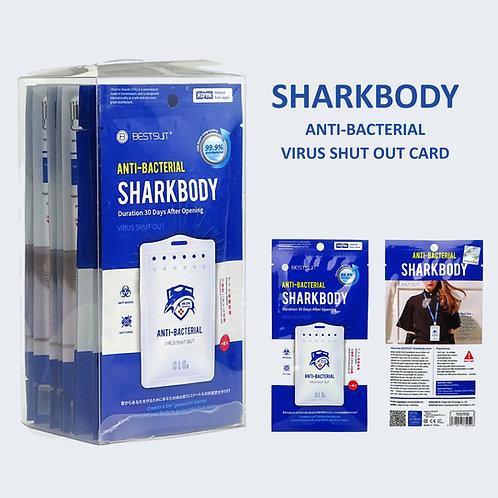 Sharkbody Anti-Bacterial Virus Card